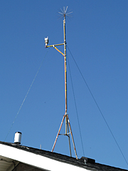 The Institute maintains a full suite of meteorological sensors at Stony Brook.