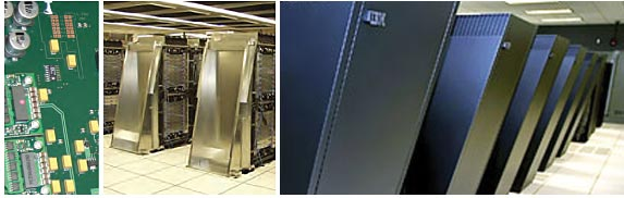 IBM BlueGene/L supercomputer.