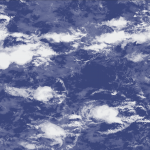 Snapshot of a cloud scene at full model resolution (180x180 km2)
