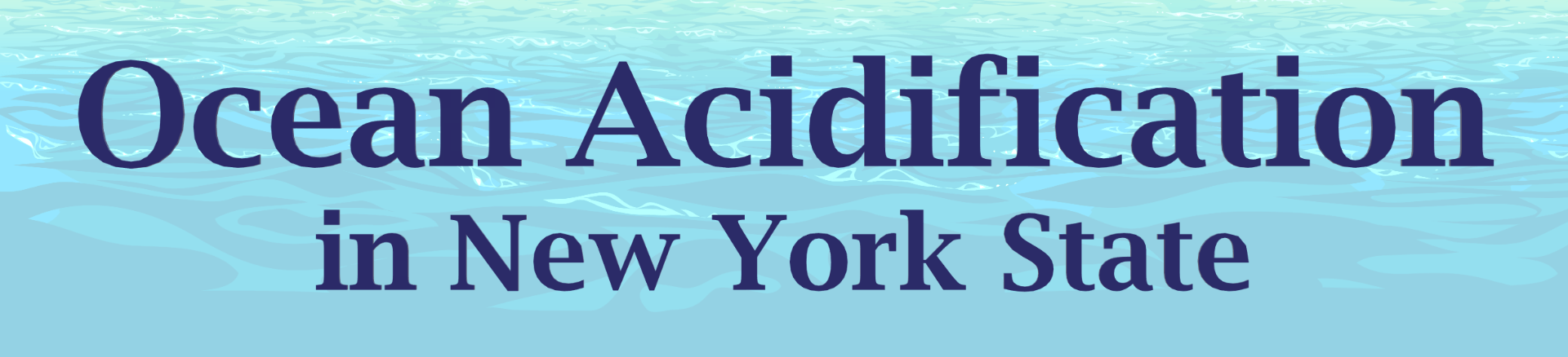 Ocean Acidification in New York State